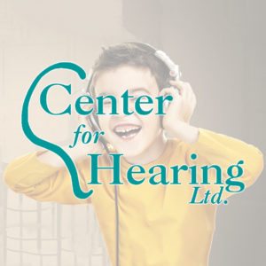 Center for Hearing Fixed glow banner