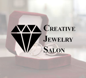 Creative jewelry banner fixed