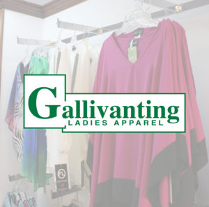 Gallivanting Apparel (fixed outer glow) banner